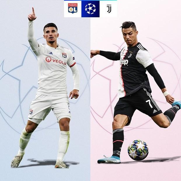 Lyon - Juventus. Đội bóng Italy bốc phải lá thăm khá may mắn, Cristiano Ronaldo sẽ có cơ hội nâng cao kỷ lục? (Nguồn: UEFA)