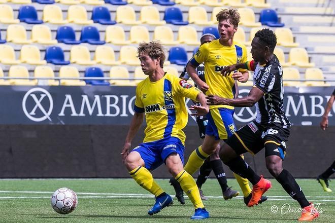   Công Phượng mới thi đấu có 20 phút từ khi gia nhập Sint-Truidense hồi tháng 7.  