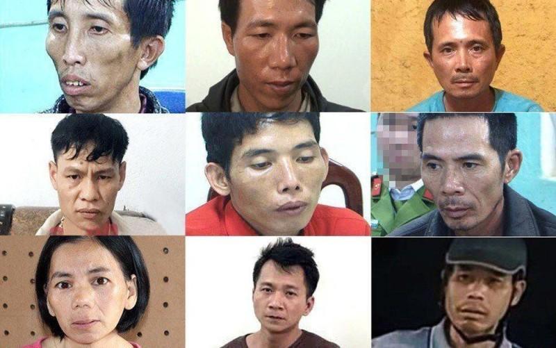9 bị can liên quan tới vụ án này bị truy tố.