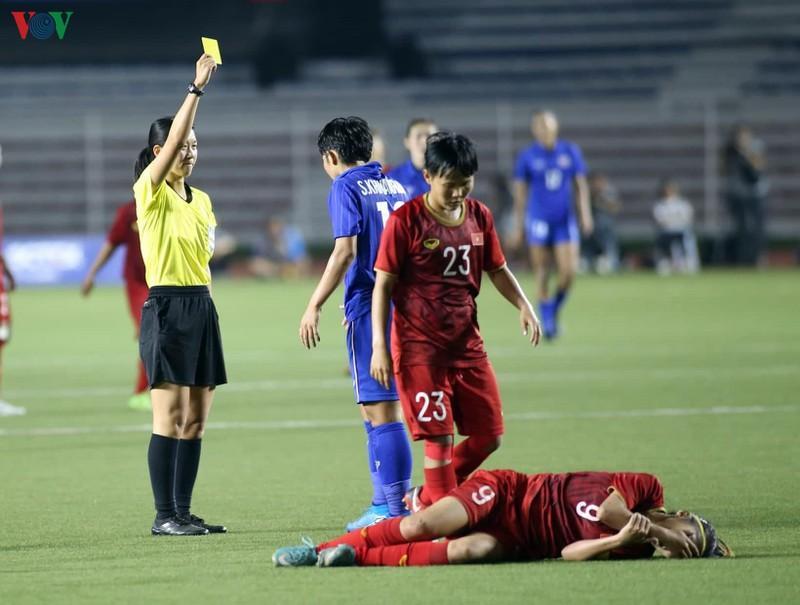 ĐT nữ Việt Nam liên tục bị đối phương chơi xấu