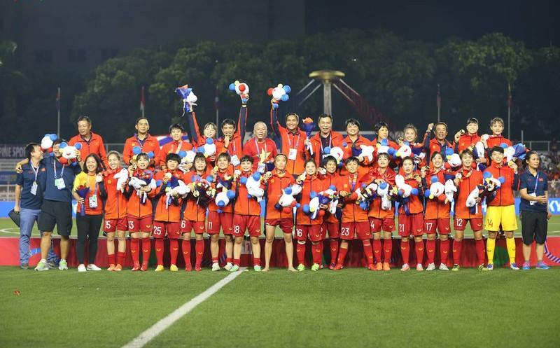 ĐT nữ Việt Nam lần thứ 6 đăng quang vô địch tại SEA Games.