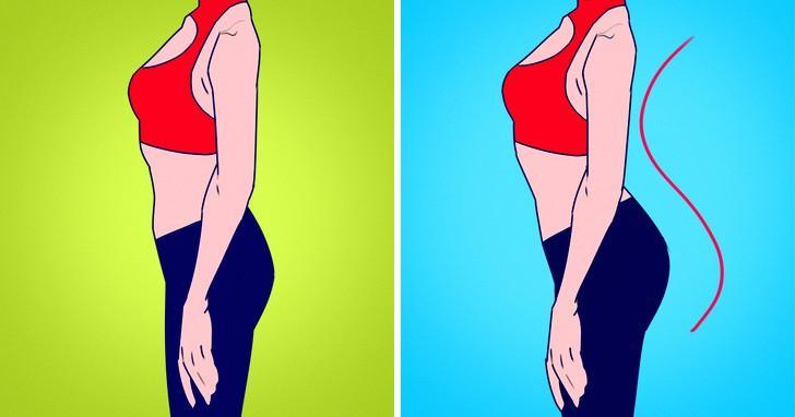 Cột sống vốn đã có độ cong nhẹ để giúp giảm căng thẳng khi cơ thể chuyển động. Nhưng khi đi giày cao gót độ cong của cột sống sẽ bị phóng đại. Những ảnh hưởng tới cột sống có thể gây đau, yếu cơ và chuột rút...