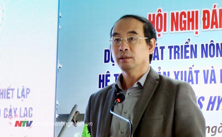 Phát triển nông thôn mới thông qua thiết lập hệ thống sản xuất và phân phối hạt giống cho cây lạc Việt Nam