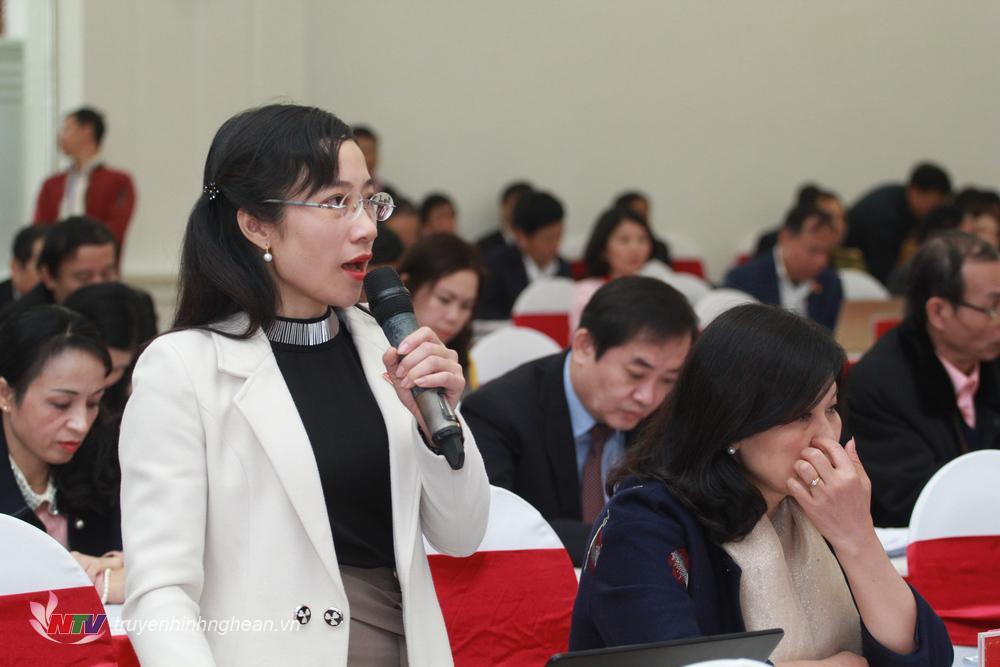 Đại biểu Đinh Thị An Phong –huyện Nghi Lộc