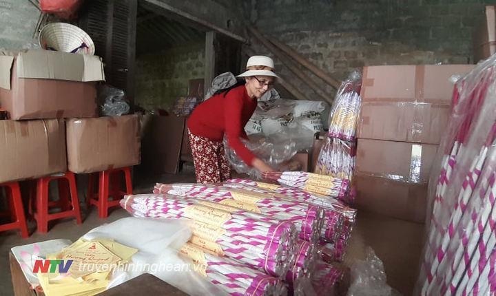 Hương trầm Quỳnh Lưu đang từng bước khẳng định thương hiệu trên thị trường.
