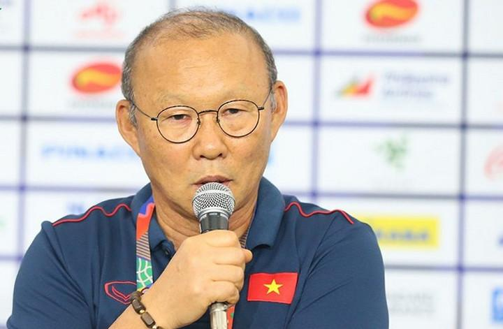 HLV Park Hang Seo quyết tâm mang tấm HCV về cho bóng đá Việt Nam.