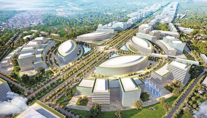 Nhiều dự án lớn đầu tư trục đại lộ Vinh - Cửa Lò. (Ảnh: internet)