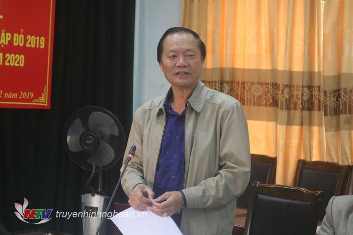 đ/c Hồ Ngọc Dũng – PCT UBND huyện phát triển tại hội nghị