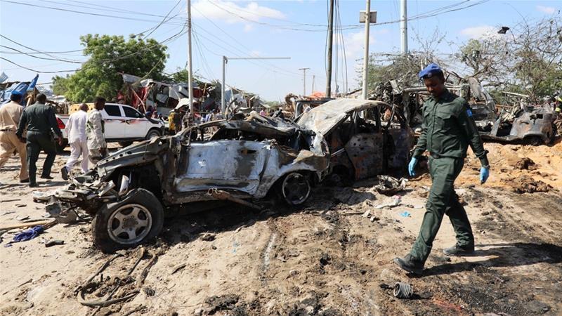 Đánh bom kinh hoàng ở Somalia.
