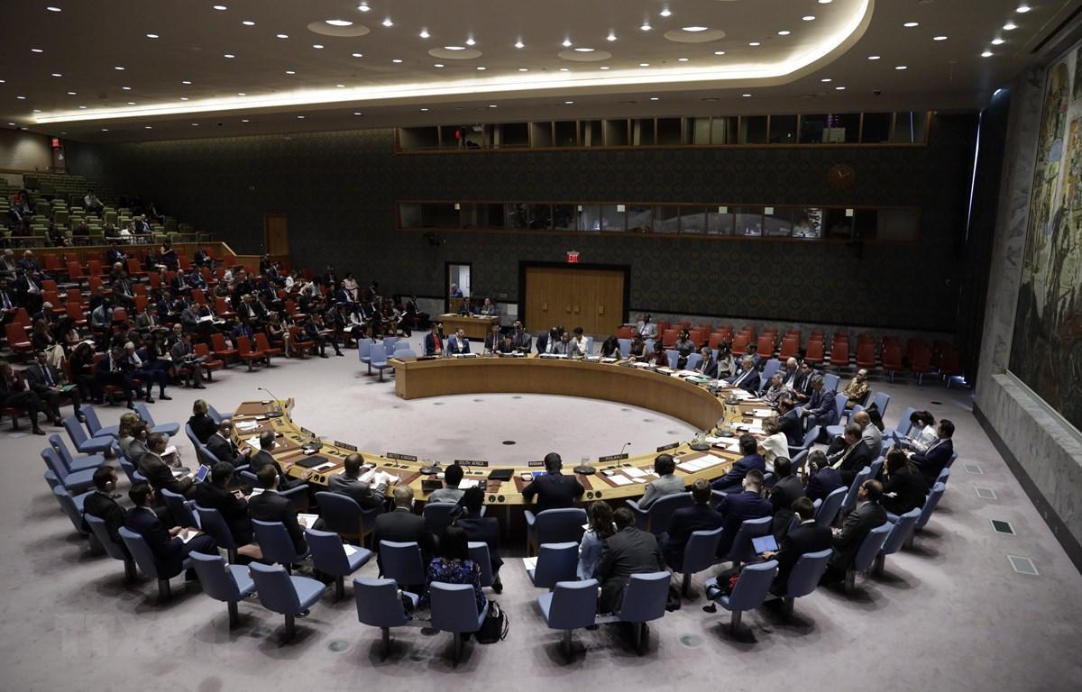 Hội đồng Bảo an Liên hợp quốc.