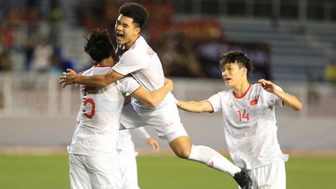 Các cầu thủ Việt Nam cần phát huy tất cả ưu điểm để vượt qua đối thủ đang hưng phấn.