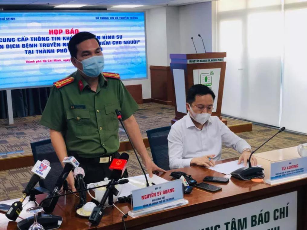 đại tá Nguyễn Sỹ Quang, Phó Giám đốc Công an TP
