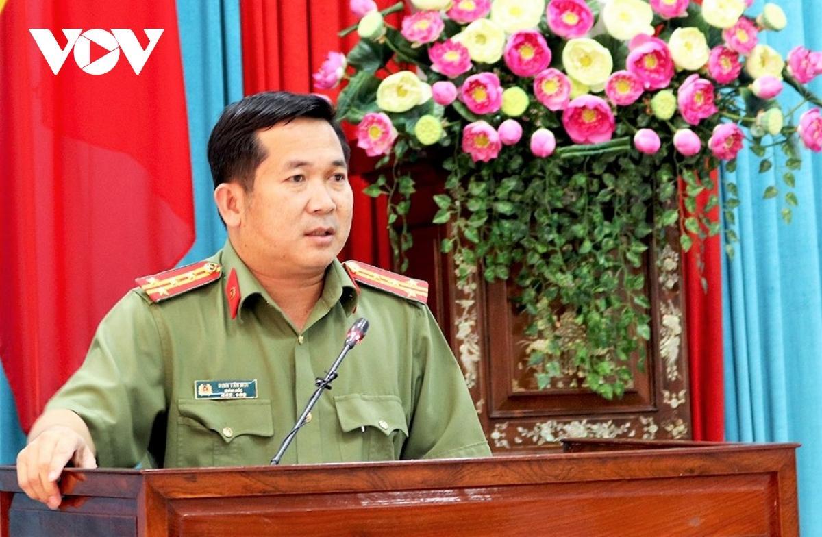 Đại tá Đinh Văn Nơi, Giám đốc Công an tỉnh An Giang