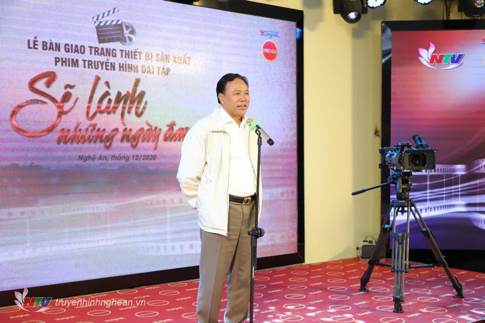 Ông Nguyễn Như Ý - Tổng Giám đốc Công ty CP Synot ASEAN   bày tỏ những kỳ vọng về sự phát triển của NTV trong sản xuất phim truyền hình.