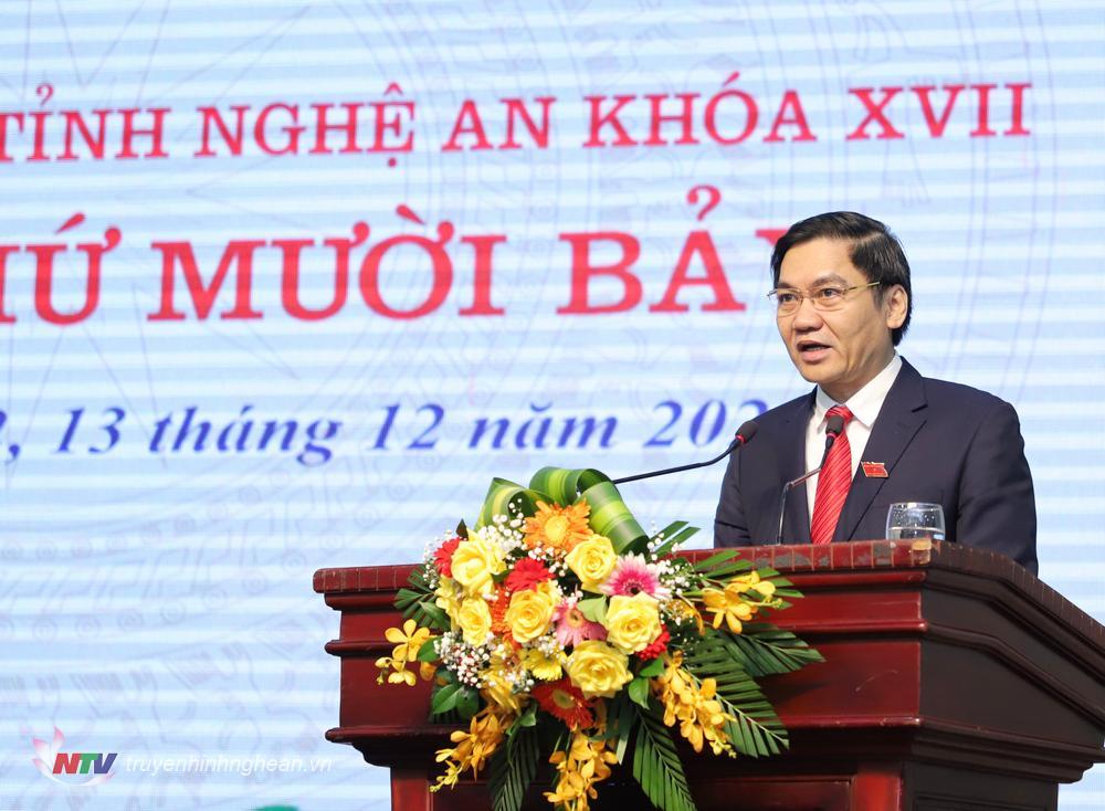 Phó Chủ tịch UBND tỉnh Hoàng Nghĩa Hiếu