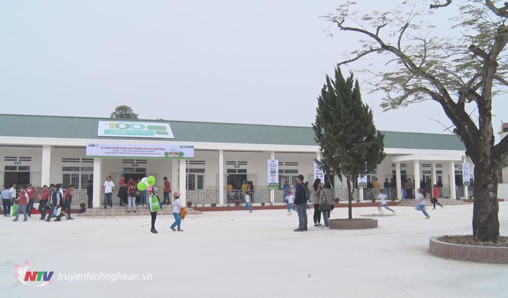 Khuôn viên trường học.