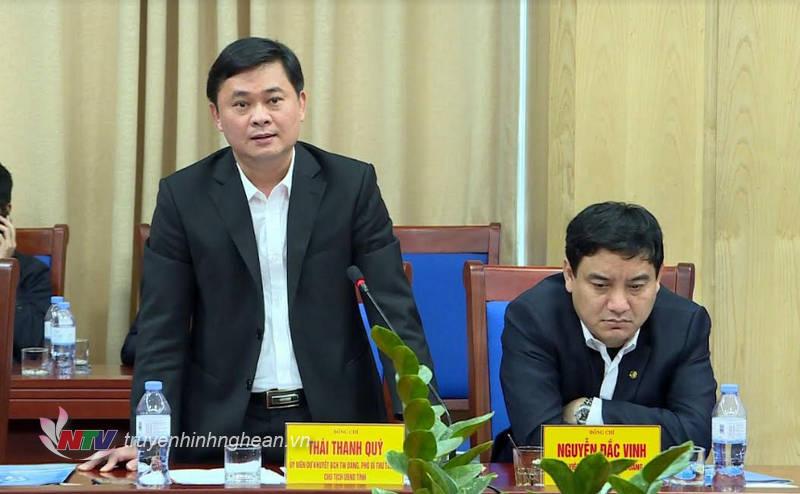 Chủ tịch UBND tỉnh Thái Thanh Quý