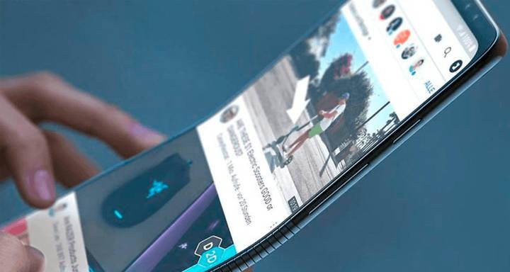 8. Samsung Galaxy F  Galaxy F, smartphone có thể gập đầu tiên của Samsung và là một trong những smartphone có thể gập đầu tiên trên thị trường.