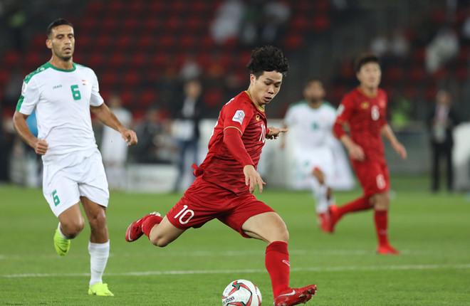 Đội tuyển Việt Nam trắng tay trước Iraq dù có hai lần vượt lên dẫn trước