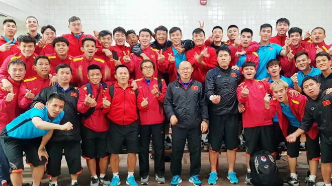HLV Park đã gặt hái rất nhiều thành công cùng bóng đá Việt Nam.