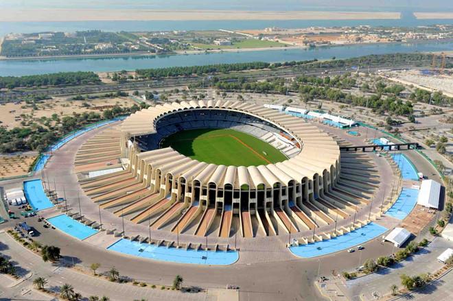 SVĐ Zayed Sports City có sức chứa 43.000 chỗ ngồi sẽ là nơi diễn ra lễ khai mạc Asian Cup.