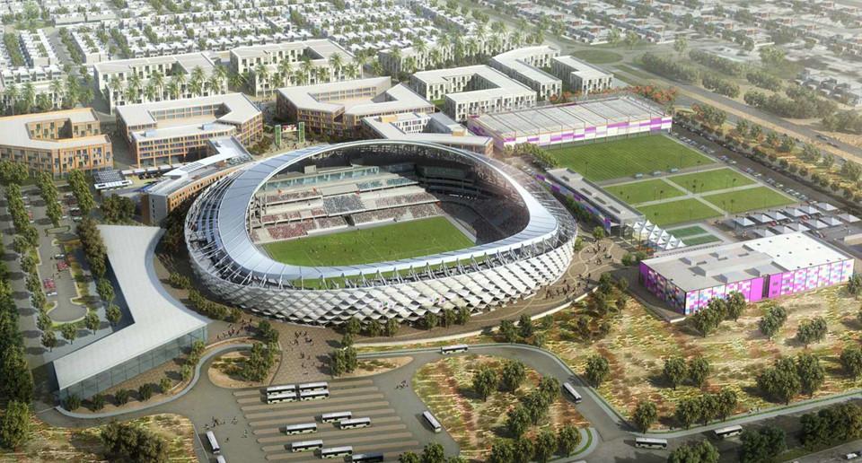 Hazza Bin Zayed (thành phố Al Ain, sức chứa 25.965 chỗ ngồi): Ngay sau khi khánh thành vào năm 2014, Hazza Bin Zayed được vinh danh là sân bóng của năm. Nơi đây sẽ tổ chức 5 trận vòng bảng, 1 trận vòng 16 đội, tứ kết và bán kết. Trong số đó, đáng chú ý có màn so tài giữa tuyển Việt Nam – Yemen và đội chủ nhà UAE gặp Thái Lan.