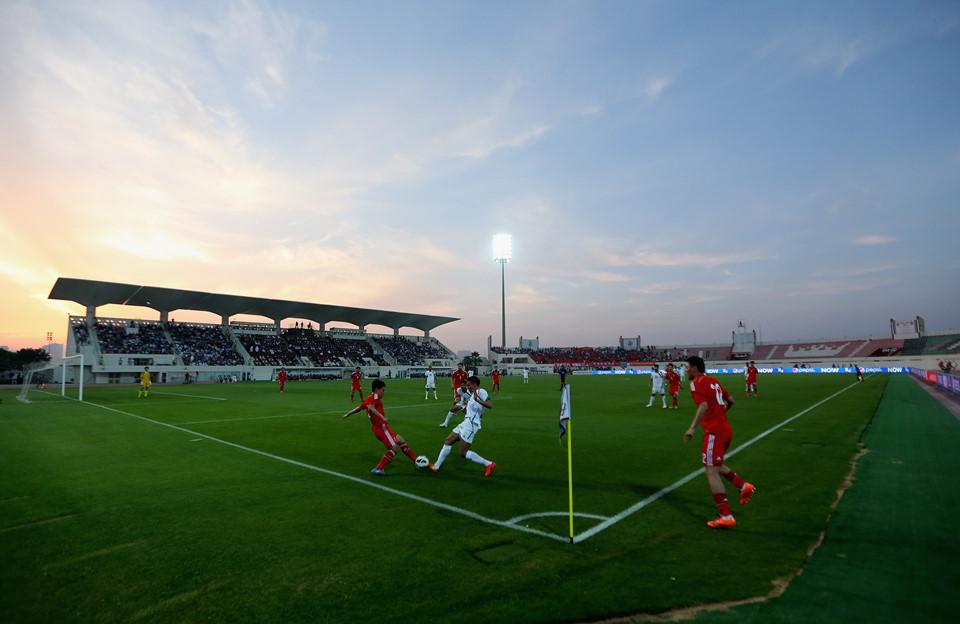 Al-Sharjah (thành phố Shariah, sức chứa 11.000 chỗ ngồi): Al-Sharjah là sân bóng có sức chứa nhỏ nhất tại Asian Cup 2019, sẽ tổ chức 5 trận vòng bảng và 1 trận vòng knock-out.