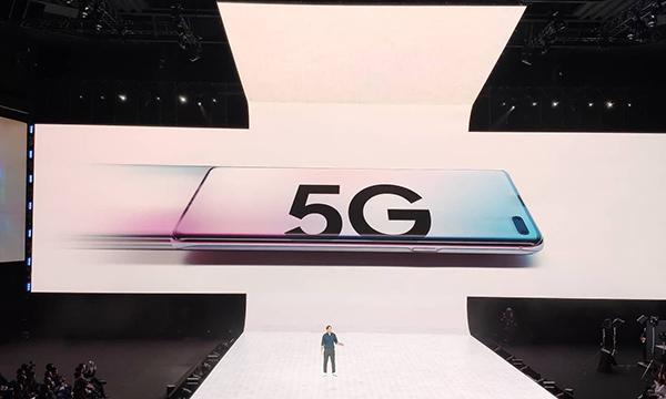 Galaxy S10 5G.  Ảnh: Tuấn Hưng