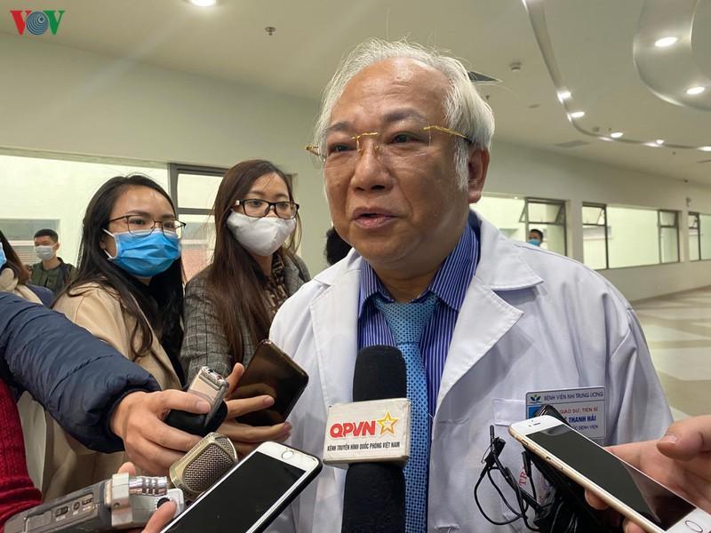 GS.TS Lê Thanh Hải, Giám đốc Bệnh viện Nhi Trung ương.