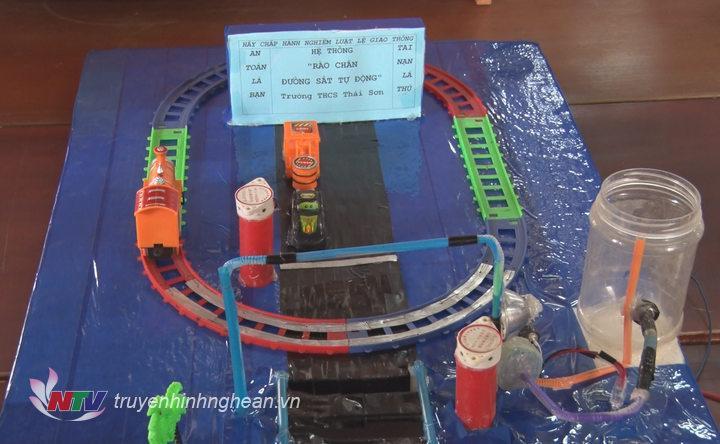 Một số mô hình dự thi lọt vào vòng chung kết.