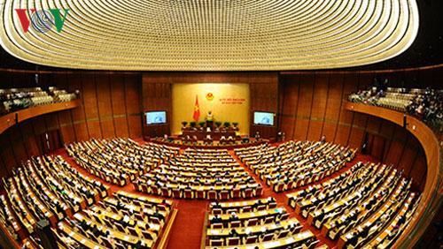 Quốc hội tập trung phần lớn thời gian cho công tác xây dựng pháp luật tại kỳ họp thứ 7.