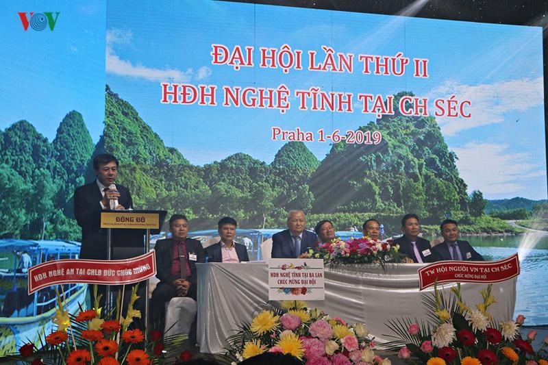 Đại sứ Hồ Minh Tuấn phát biểu tại Đại hội.