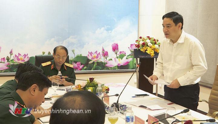 Bí thư Tỉnh uỷ Nguyễn Đắc Vinh phát biểu tại hội nghị.