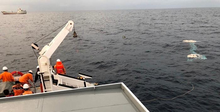 Công tác tìm kiếm cứu nạn 9 thuyền viên tàu cá NA 95899 TS vẫn được triển khai - Ảnh minh họa