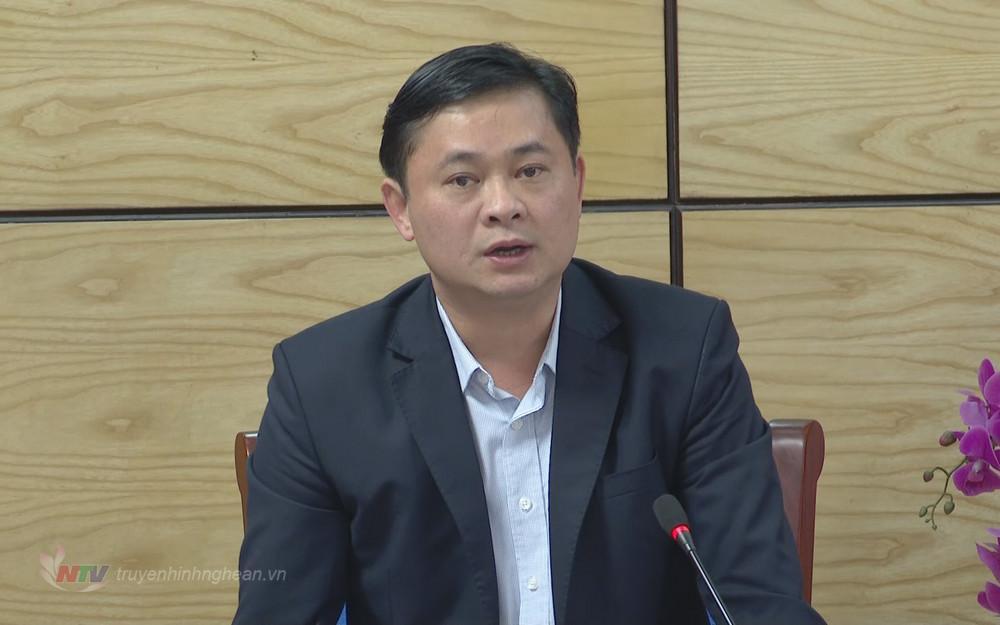 Chủ tịch UBND tỉnh Thái Thanh Quý phát biểu kết luận tại hội nghị.