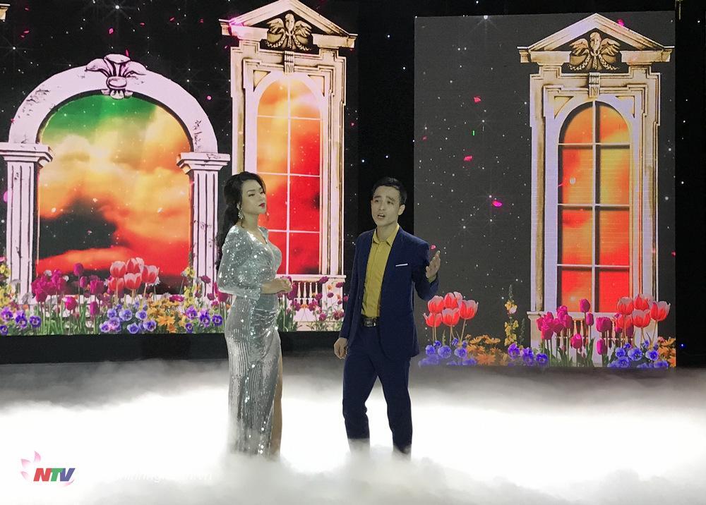 """Ca sỹTrang Nhung và Minh Hoàng với tình khúc """"Xuân tự tình"""""""