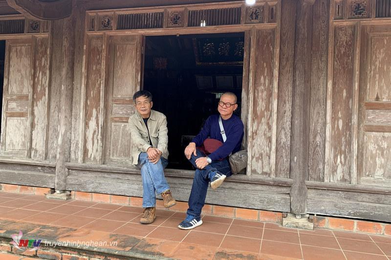 Nhà văn Phạm Ngọc Tiến  c