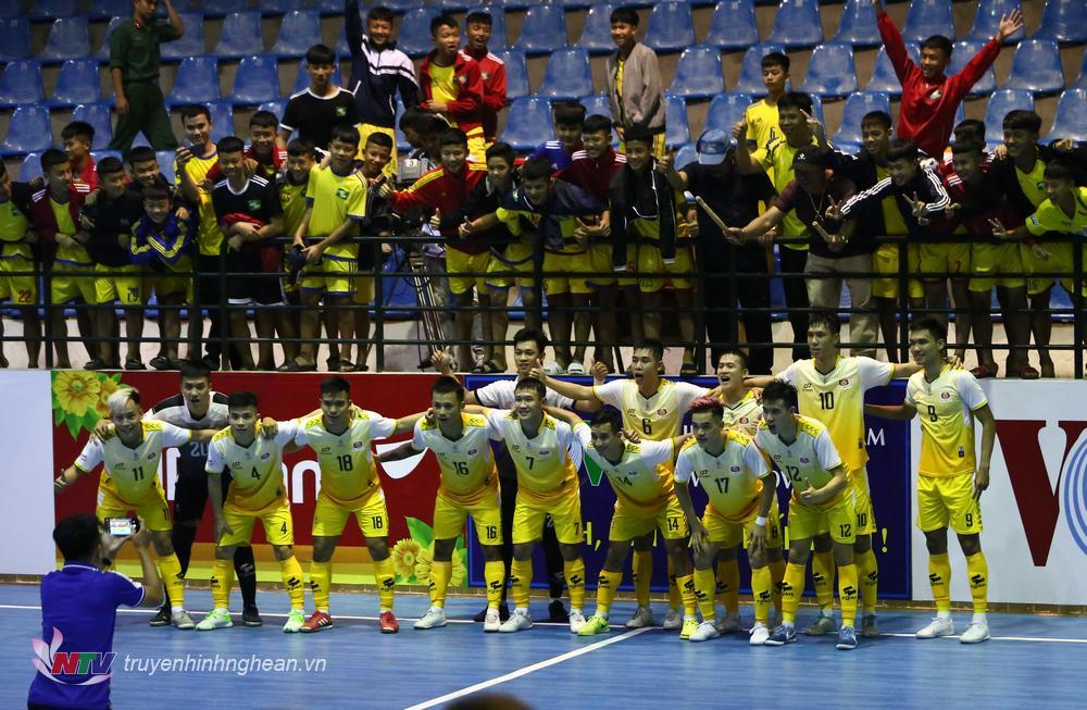 Đội SHK Nghệ An lần đầu tiên tham dự Futsal đẳng cấp cao