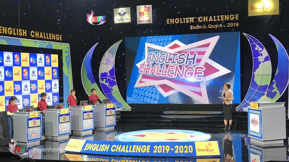 Vòng thi tuần 3 quý I gồm 4 thí sinh đến từ các trường huyện.